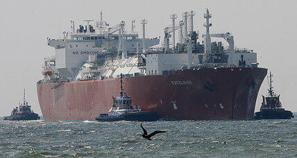 US eases natural gas glut with second export terminal (+video)
