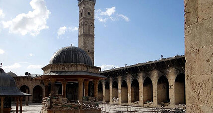 Syria's ancient landmarks crumble under onslaught of war