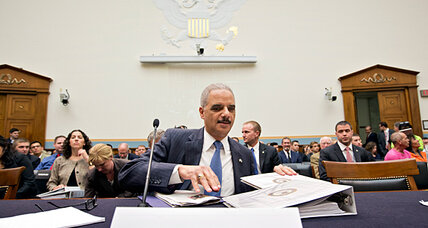 Might Obama fire Attorney General Eric Holder?