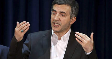 Ahmadinejad to appeal ally's removal from Iran's presidential race