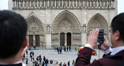 Campaigner against gay marriage in France kills himself in Notre Dame