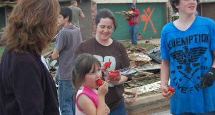 Oklahoma tornado: In Moore, shock, kindnesses, and blessings counted