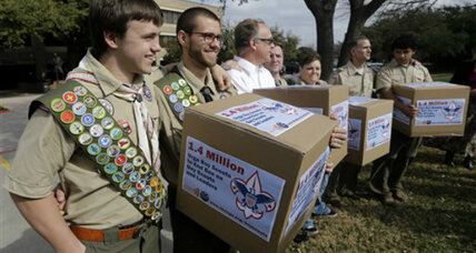 Boy Scouts of America to vote on allowing gay members