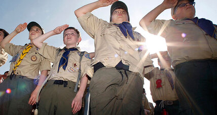 Boy Scouts allow gay Scouts, but leave ban on gay leaders in place