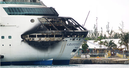 Royal Caribbean cruise fire sends passengers home early (+video)