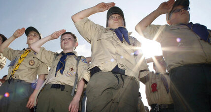 Churches grapple with whether to cut Boy Scout ties