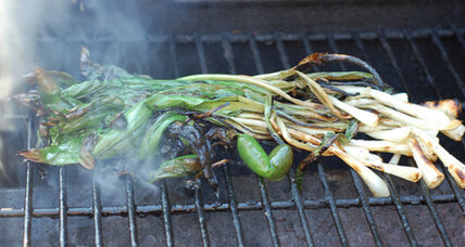 Grilled ramps: simple, spectacular, seasonal bounty