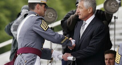 Obama, Hagel tell young officers: You must lead in ridding US military of sexual assault
