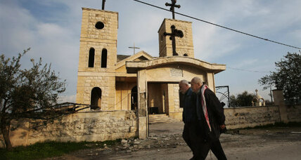 Syria's future tied to freedom for captured Christian leaders