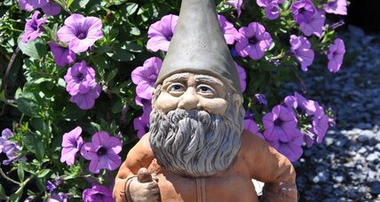 Chelsea Flower Show includes gnomes this year