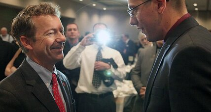 Rand Paul for president? Why else is he in Iowa? (+video)