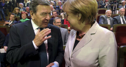 Schroeder and Delors: Unity is as important as reforms in Europe