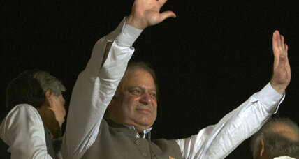 The twice and future prime minister, Nawaz Sharif, garners big Pakistan vote