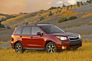 forester was the only small suv tested by the insurance institute for highway safety that earned an acceptable rating for protecting - Suv Ratings