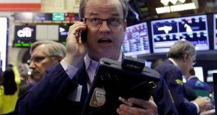 Stocks swoon in final hour of May trading
