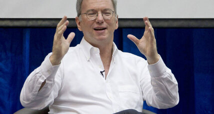 Google's Eric Schmidt: Internet will let Chinese rise up