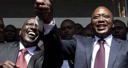 President at home, on trial abroad: How Kenya's new leader is coping