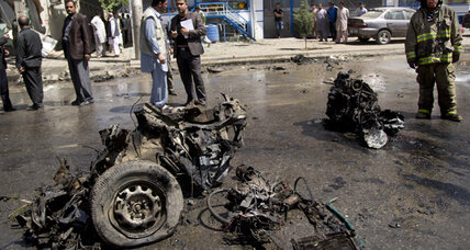 Afghanistan blast targets NATO convoy, kills at least 6