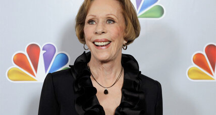 Carol Burnett will receive the 2013 Mark Twain Prize for American Humor