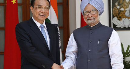 Chinese premier visits India, talks up trade and trust