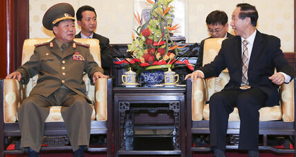 North Korea sends special envoy to mend relations with China