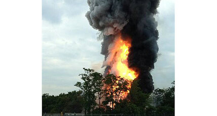 Train derailment: What's in the massive smoke plume?
