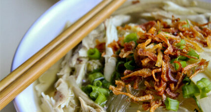 Vietnamese chicken glass noodle soup, and a family story
