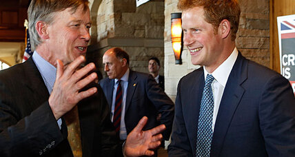 Why Prince Harry meets US vets in Colorado (+video)