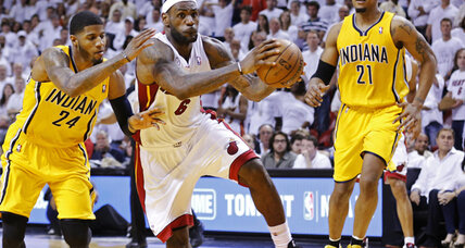 James' overtime heroics lift Heat over Pacers in Game 1 of NBA Eastern finals