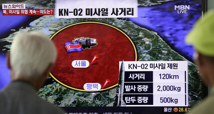 Why did North Korea launch 6 missiles in 3 days?