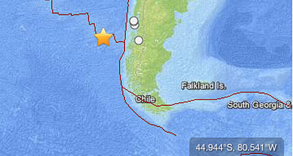 6.8 Chile earthquake strikes off the coast