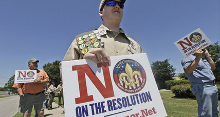 Boy Scouts' historic vote on gays: lobbying right up to the end