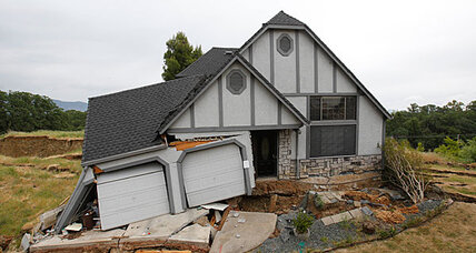 Calif. homes sinking in mysterious 'slow motion disaster'