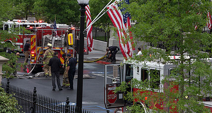 West Wing evacuated: Smoke from a transformer prompts action