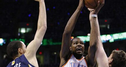 NBA playoffs: Thunder and Pacers win conf. semifinal opening games