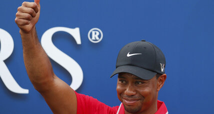 Tiger Woods triumphs as Sergio sinks in Players Championship