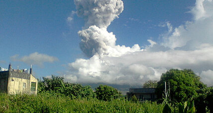 Philippines volcano erupts, kills five foreign climbers
