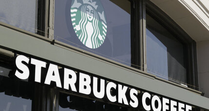 Starbucks smoking policy bans smoking outside cafes