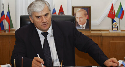 An Olympic crackdown? Mayor snatched from Dagestan in Russian raid.