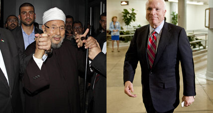 An Egyptian preacher and a US senator compete over Syria's future