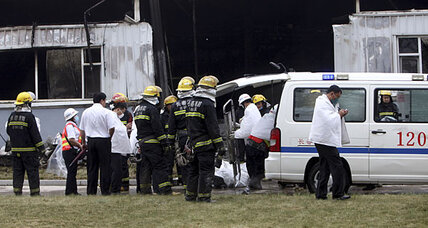 Fire kills 119 in China poultry factory