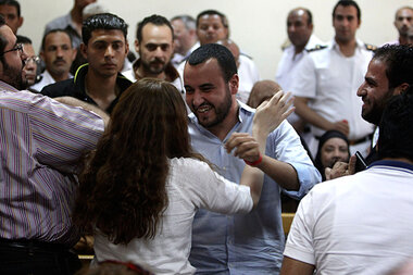 Egypt to global democracy NGOs: Drop dead - CSMonitor com