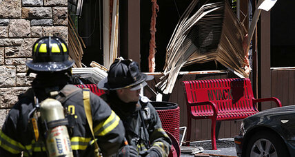NY college explosion blamed on natural gas leak