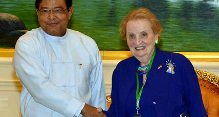 How Madeleine Albright discovered she was on Myanmar's blacklist