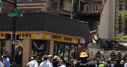 Philadelphia building collapse: 'Ground-shaking'