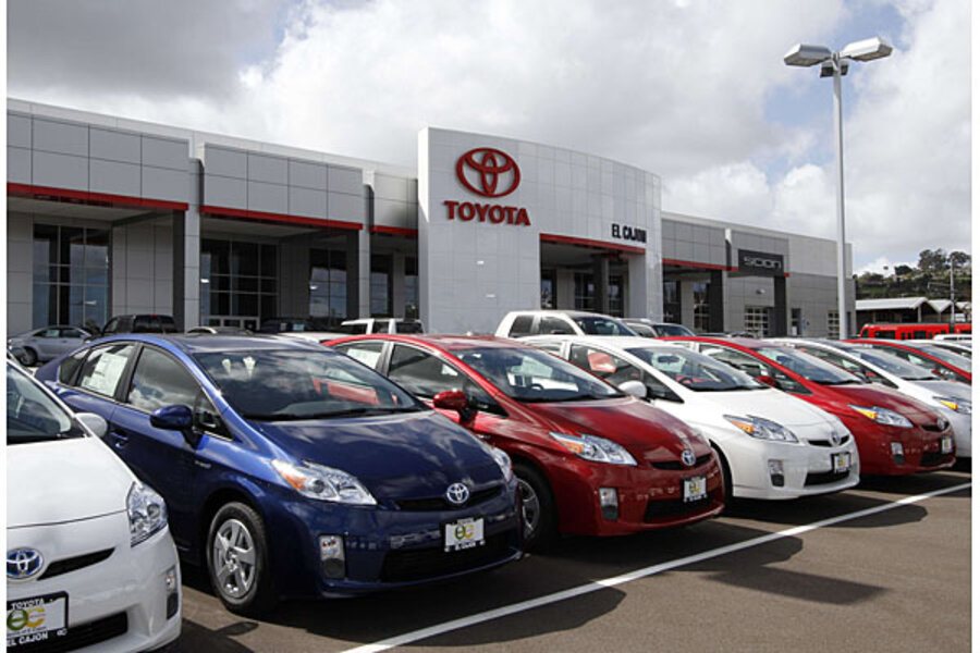 Toyota recall includes 242,000 Prius, Lexus cars with