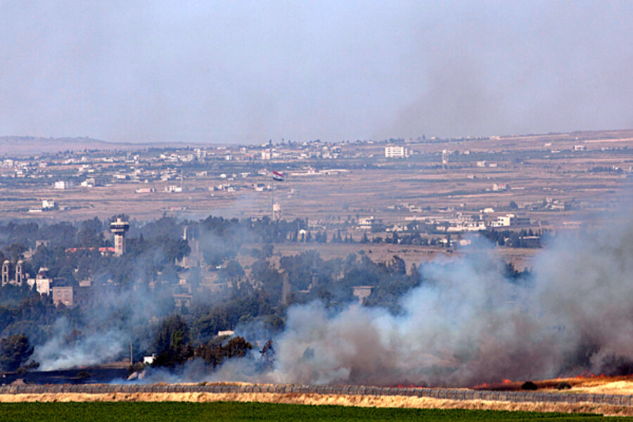 Syrian fighting spills into Golan Heights – and Israel's ...