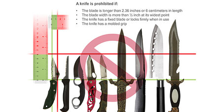 TSA relents, re-bans knives on airplanes. More pressure coming?