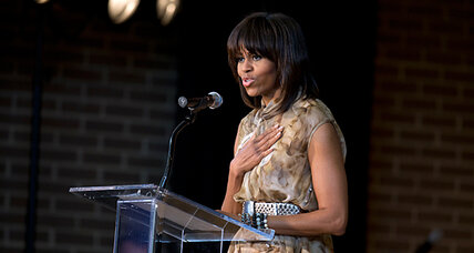 Did Michelle Obama heckler use coded racial words? Or not?