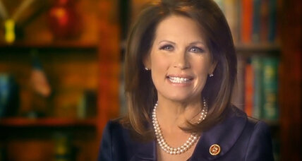 Michele Bachmann hints at another run. Is she back already?